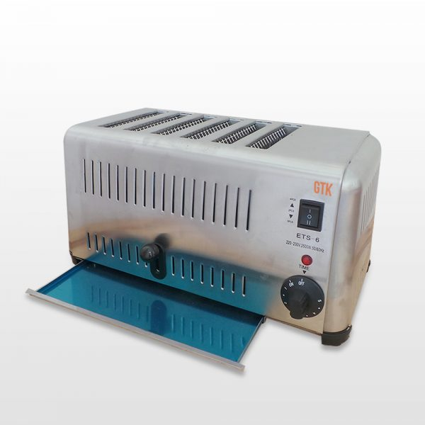electric toaster 6 slot